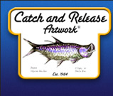 Catch and Release Artwork Logo